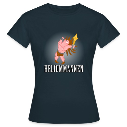 Heliummannen - T-shirt dam