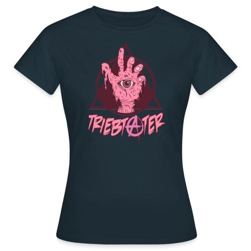 triebtäter handle with triangle - Frauen T-Shirt