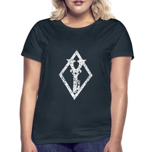 White Diamond Key - T-skjorte for kvinner