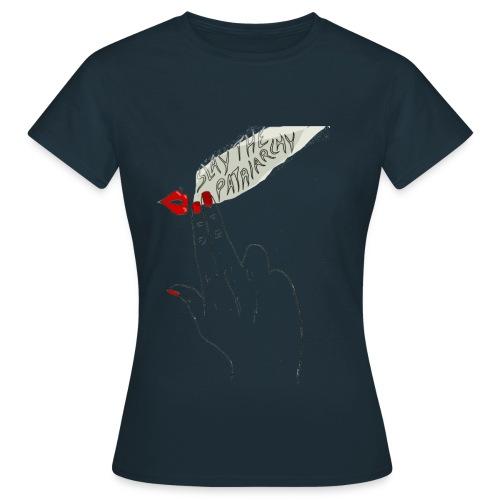 Slaypatriarchy - T-shirt Femme