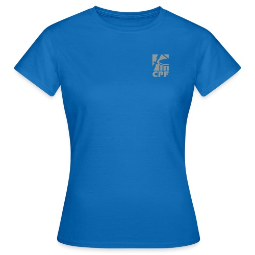 Logo CPF - Frauen T-Shirt