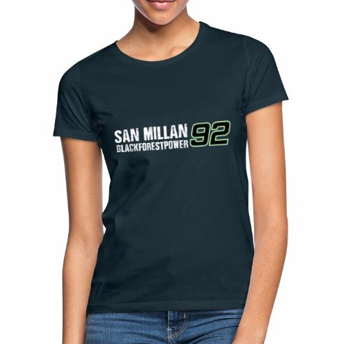 San Millan Blackforestpower 92 - Frauen T-Shirt