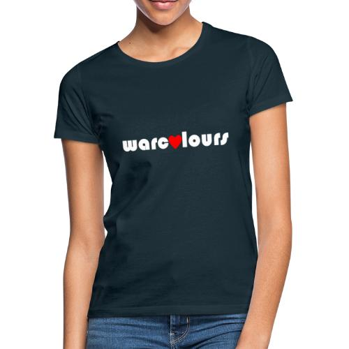love warcolours white - Women's T-Shirt