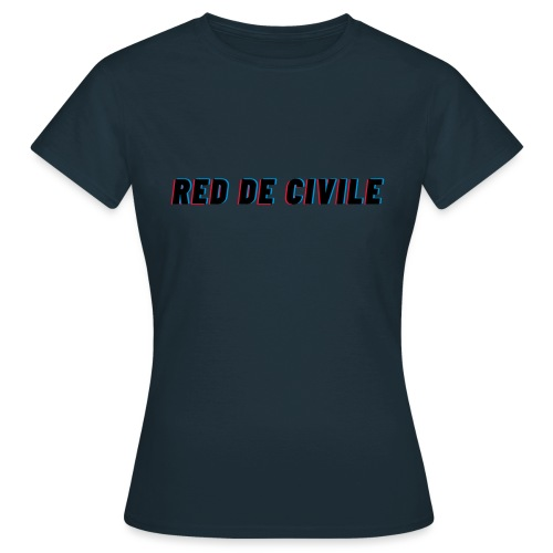 RED DE CIVILE main logo - Dame-T-shirt