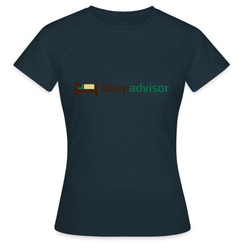 SleepAdvisor - Maglietta da donna
