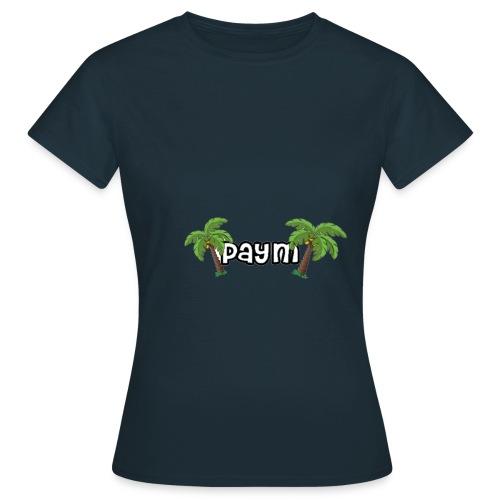 Paym Schrift mit Palmen - Frauen T-Shirt