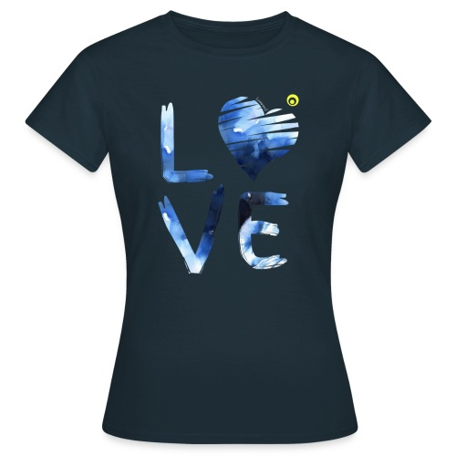 LOVE WATERCOLOR - Women's T-Shirt