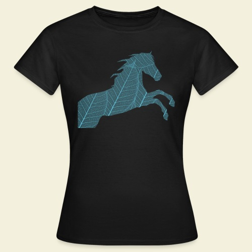 Cheval feuille - T-shirt Femme