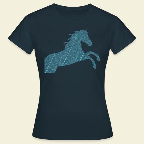 Cheval feuille - T-shirt Femme