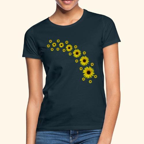 Sonnenblumen, Sonnenblume, Blumen - Frauen T-Shirt