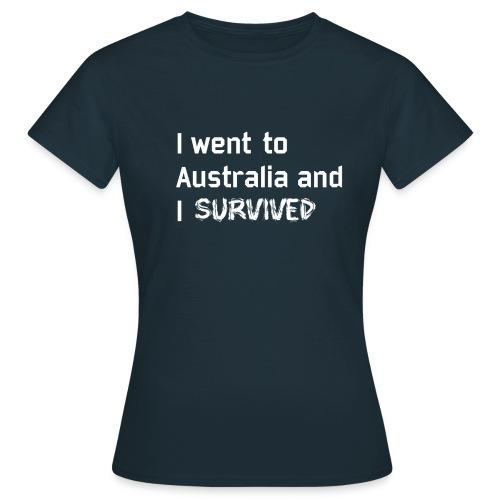 Australia Survivor white edition - T-shirt Femme
