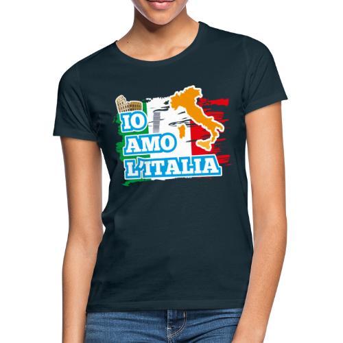 ITALY - Io Amo L'Italia - Maglietta da donna