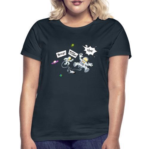 Husten wir haben ein Problem - Frauen T-Shirt