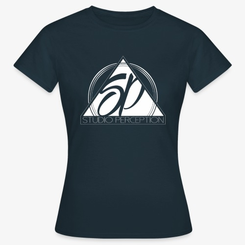 SP LOGO PERCEPTION CLOTHES BLANC - T-shirt Femme