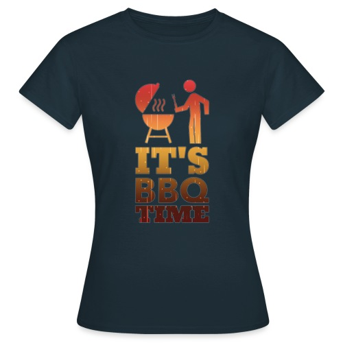 It's BBQ Time - Vrouwen T-shirt