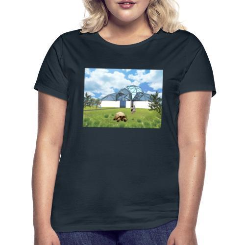 Wizualizacja żółwiarium - Koszulka damska