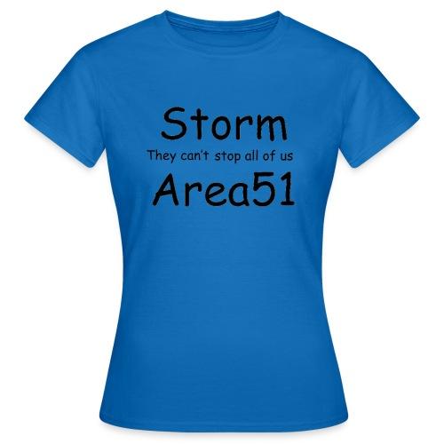 Storm Area 51 - Women's T-Shirt