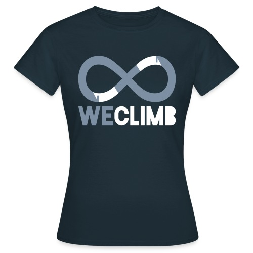 WeClimb.it - maglietta bianca - Maglietta da donna