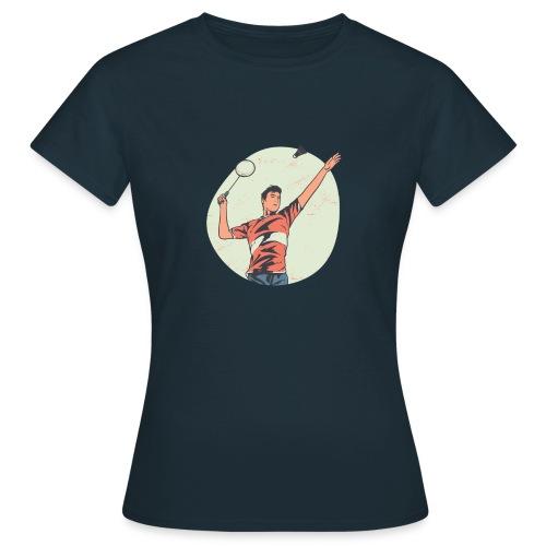 Badminton tshirt PR hoodie - Frauen T-Shirt