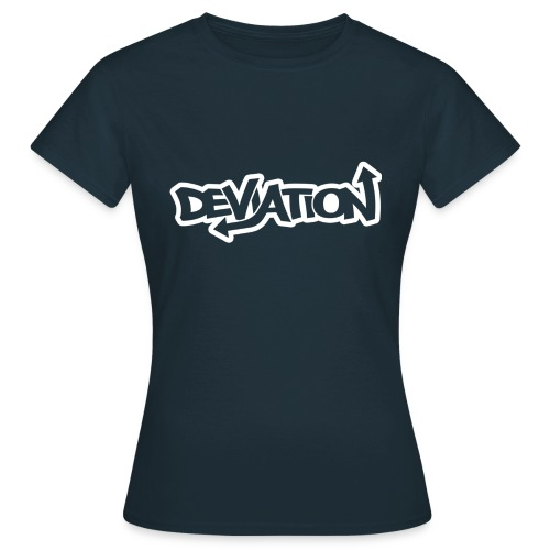 deviation white - Women's T-Shirt