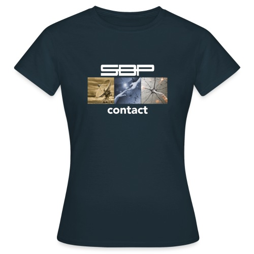 T-shirt Contact 123 black - Women's T-Shirt