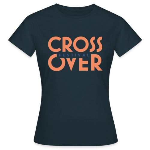 crossover 2019 festival logo couleur 01 - T-shirt Femme
