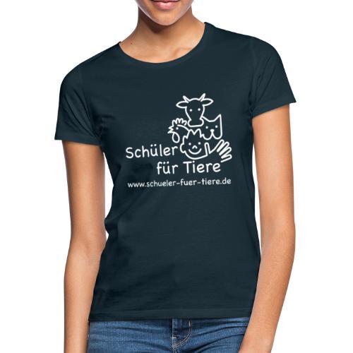 Logo Weiß (2x) - Frauen T-Shirt