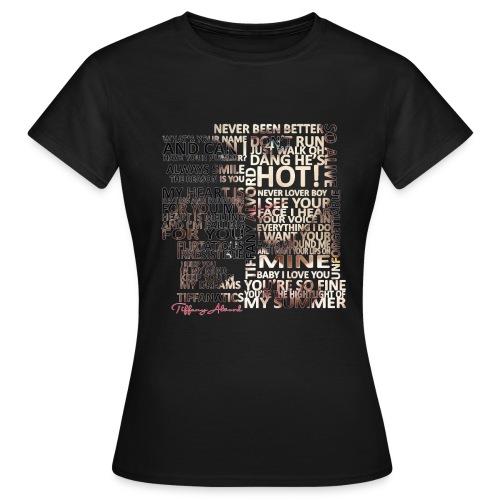 Tiffany Typography - Women's T-Shirt