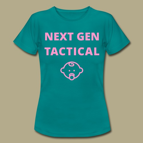 Tactical Baby Girl - Vrouwen T-shirt