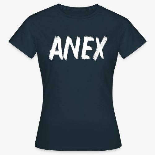 V-neck T-Shirt Anex white logo - Women's T-Shirt