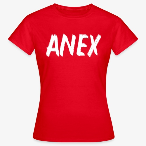 V-neck T-Shirt Anex white logo - Women's T-Shirt
