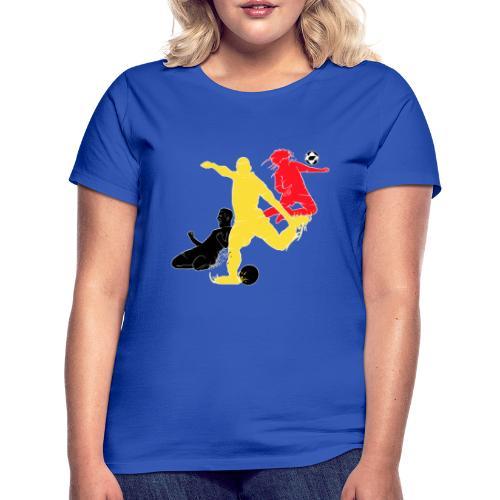Belgique Football Fan - T-shirt Femme