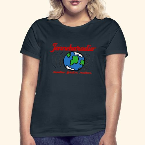 Jenneboradio -Sveriges minsta radiostation - T-shirt dam