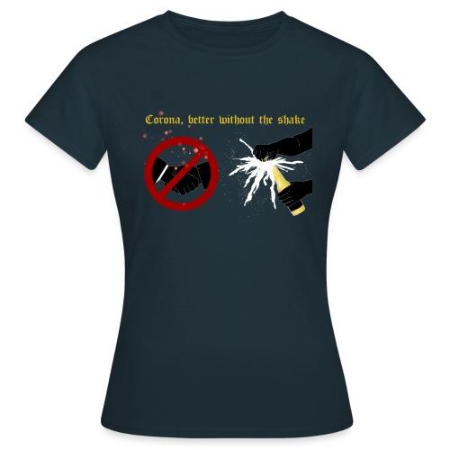 corona - T-shirt dam