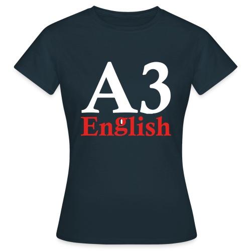A3Small logo 2 - Women's T-Shirt