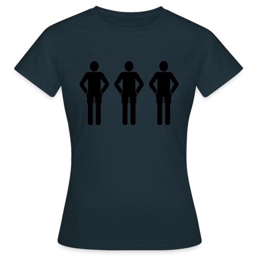 3schwarz - Frauen T-Shirt