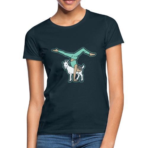 Ziegen Yoga - Frauen T-Shirt