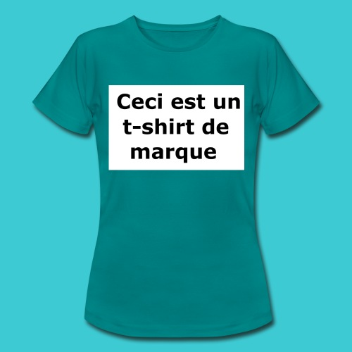 t-shirt2 - T-shirt Femme