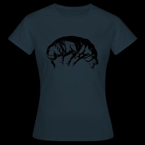 Ba rtierchen s w v2 schw transp gegraedet - Frauen T-Shirt