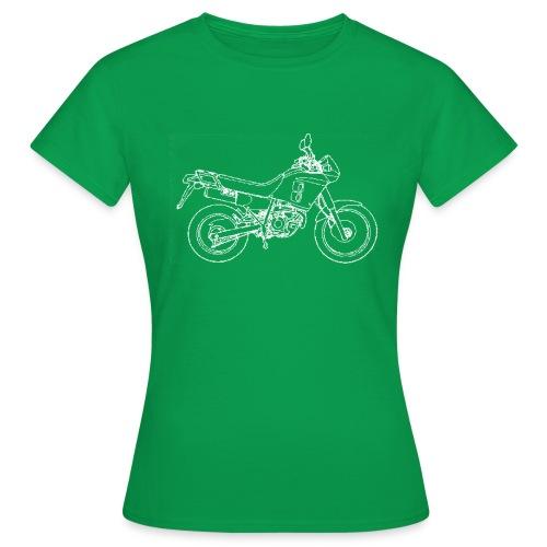 NX line wit - Vrouwen T-shirt