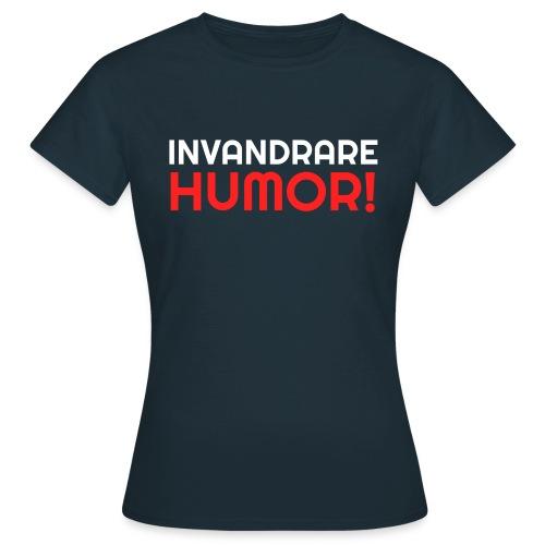 InvandrareHumor - T-shirt dam