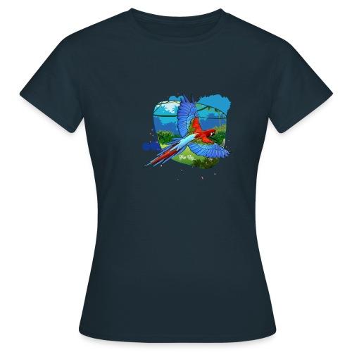 Perroquet jungle - T-shirt Femme