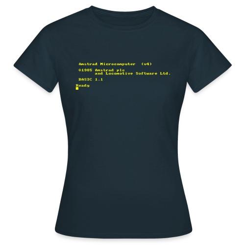 Amstrad 464 6128 PLUS (CPC) Vintage Retro Computer - Women's T-Shirt