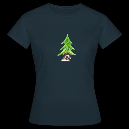 Anne unter der Tanne - Frauen T-Shirt