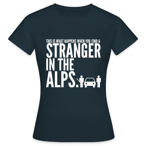 findastranger - Women's T-Shirt