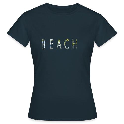 beach - Camiseta mujer