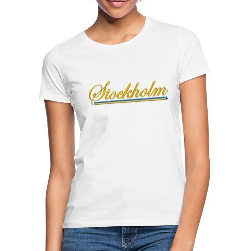 Stockholm - T-shirt dam
