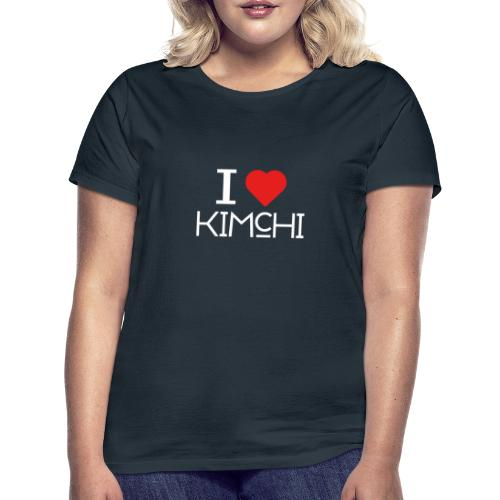 Korean Food Stories I LOVE KIMCHI (white) - Frauen T-Shirt