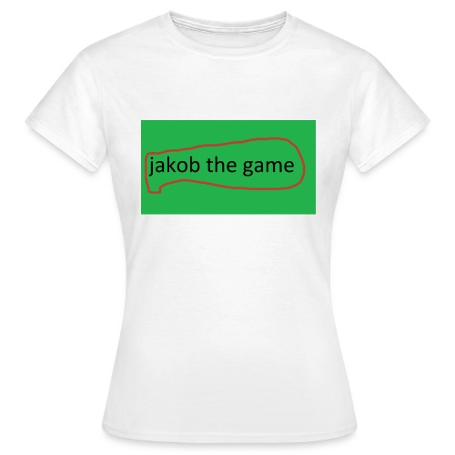 jakob the game - Dame-T-shirt