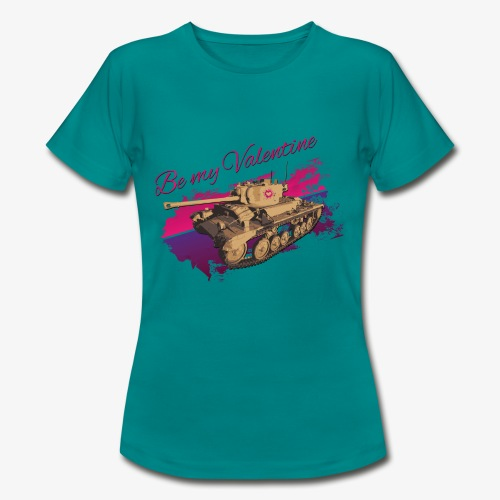 Be my Valentine Tank - Frauen T-Shirt